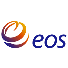 EOS logo and corporate identity were developed