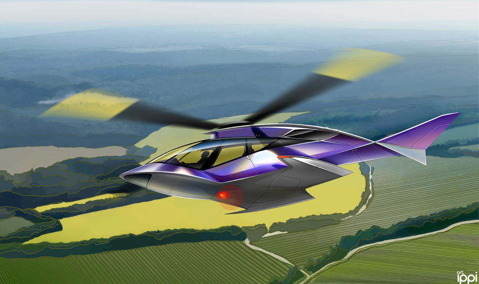 Conceptual helicopter for CBOSS-AVIA