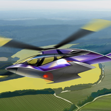 Conceptual helicopter for CBOSS-AVIA was created