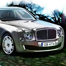 Bentley Mulsanne for Top Gear