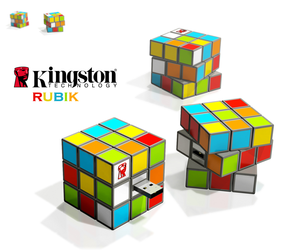 USB flash drive Kingston Rubik