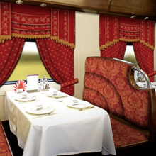 """Grand Express"" train interior"