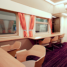 Russian Railways' laboratory train car