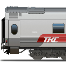 "Superior train car ""MIX"" for TCS"