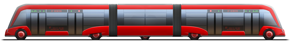 Automatic electric bus