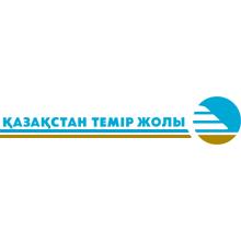 Казахские железные дороги logo