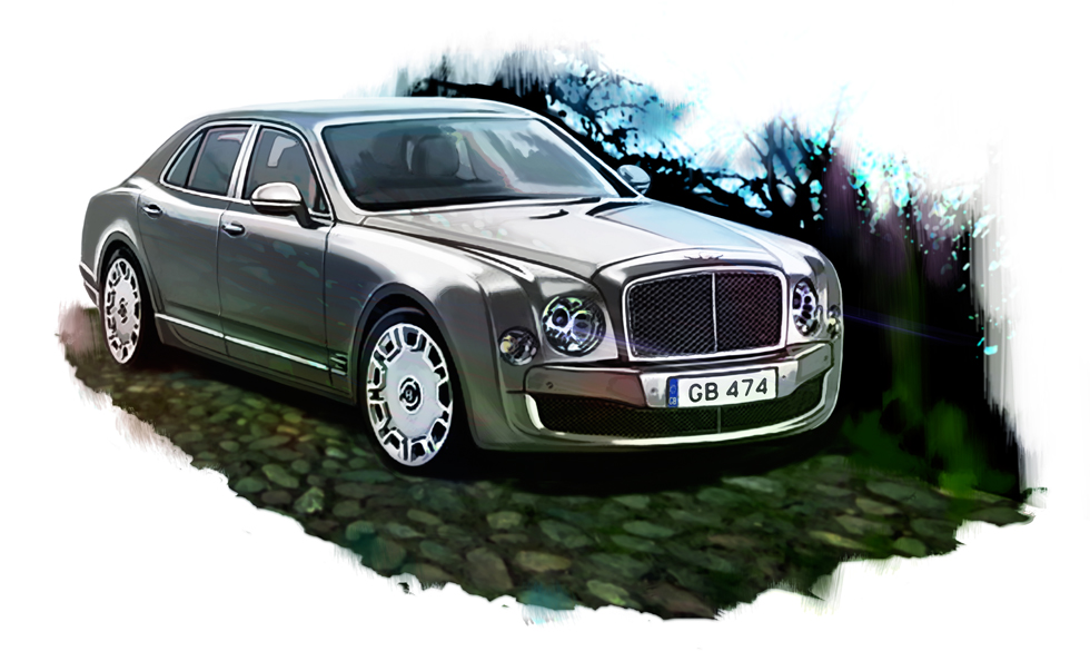 Bentley Mulsanne для Top Gear