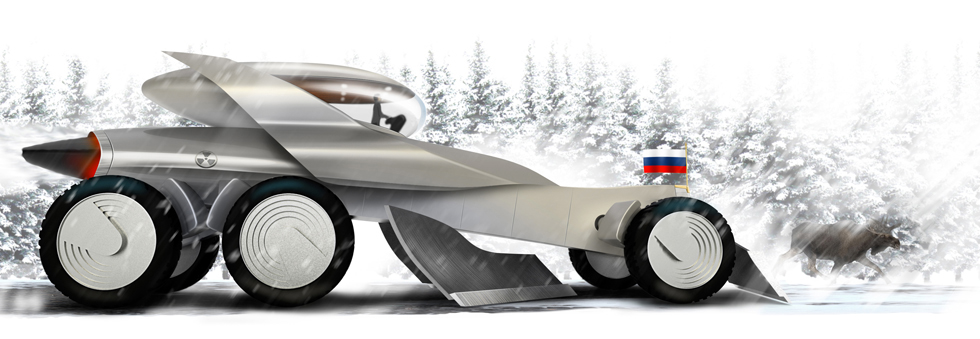 Atomic grader of the Russian tsar for Top Gear