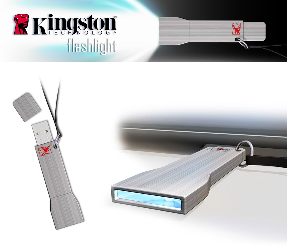 USB flash drive Kingston Flashlight