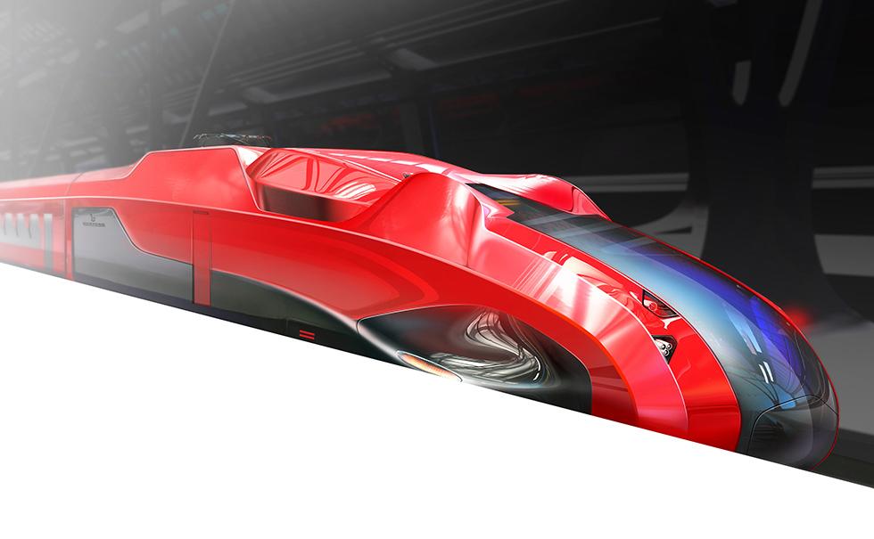 Bertone high-speed train