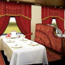 """Grand Express"" train interior"
